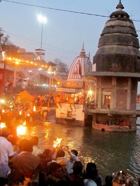 Aarti sul Gange, Haridwar (regione Uttar Pradesh)- Foto di Alessandro Ceccarelli