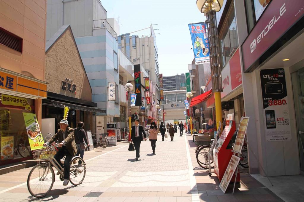 Una via di Musashino