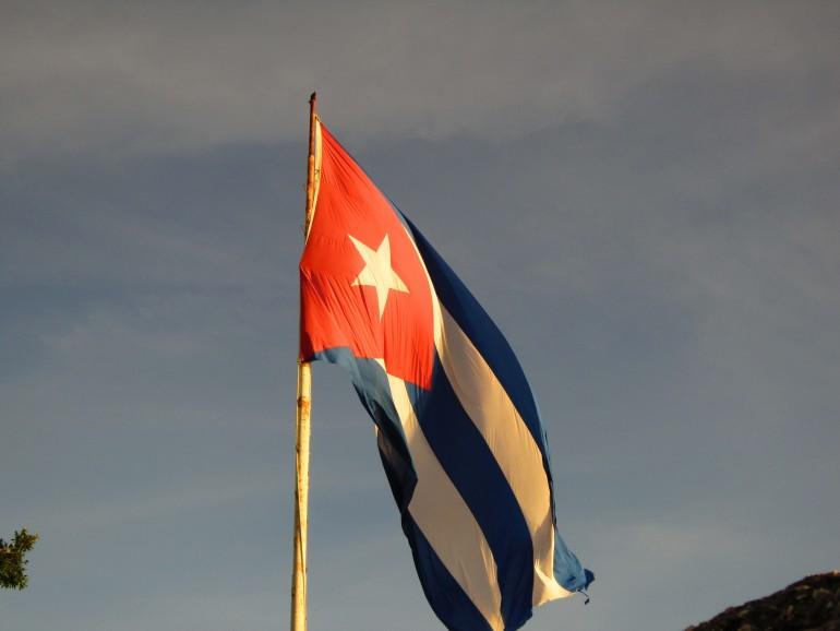 Bandiera di Cuba - Foto di Simona Forti